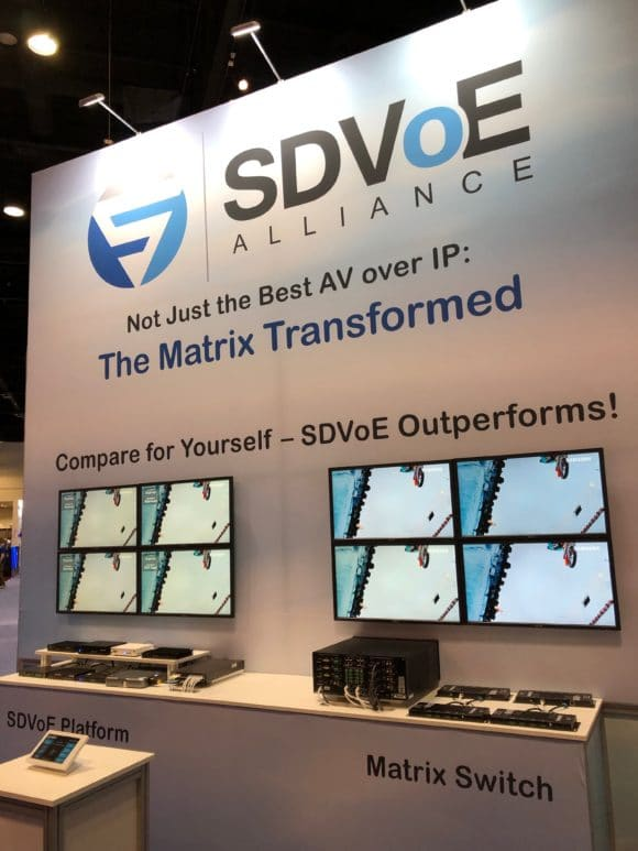 SDVoE Matrix Comparision