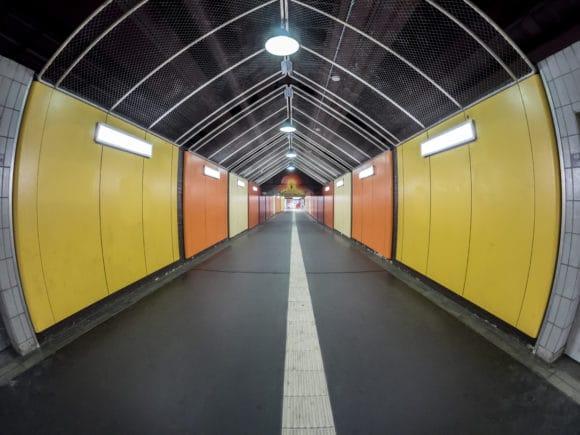 Unterführungen, U-Bahn-Bereiche