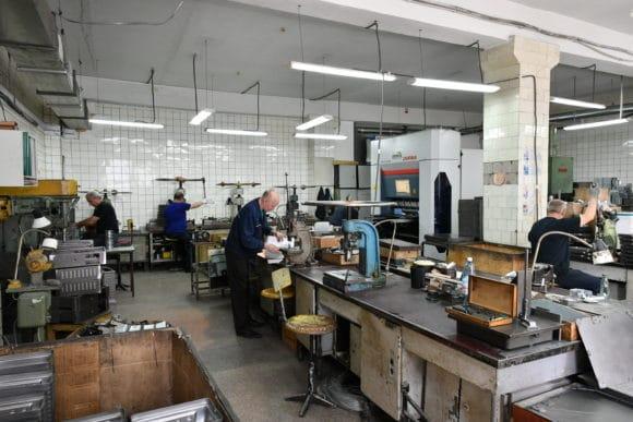 Metallverarbeitung im Werk