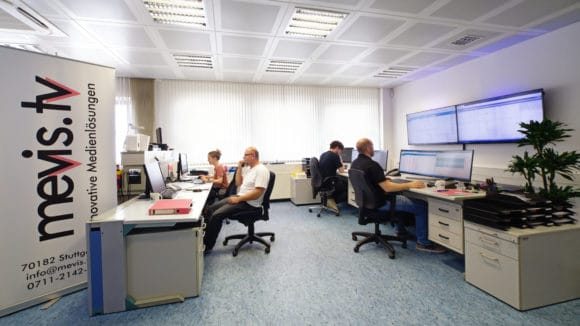 mNOC (mevis Network Operation Center)