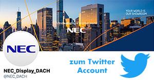 Follow NEC on Twitter