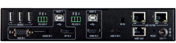 Audio Pro Heilbronn Multi-Format-Umschalter mit USB-C-Eingang AMX_CTC-1402TX