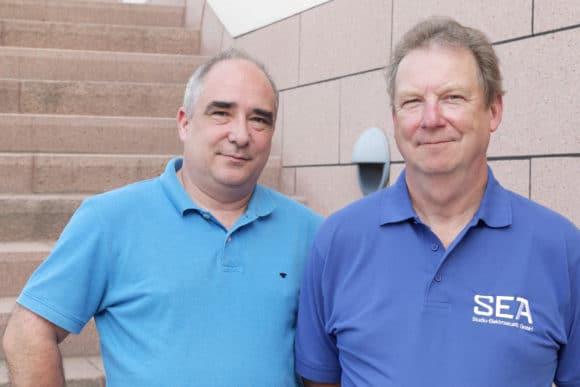 Karsten Schröder und Bernd Schiller
