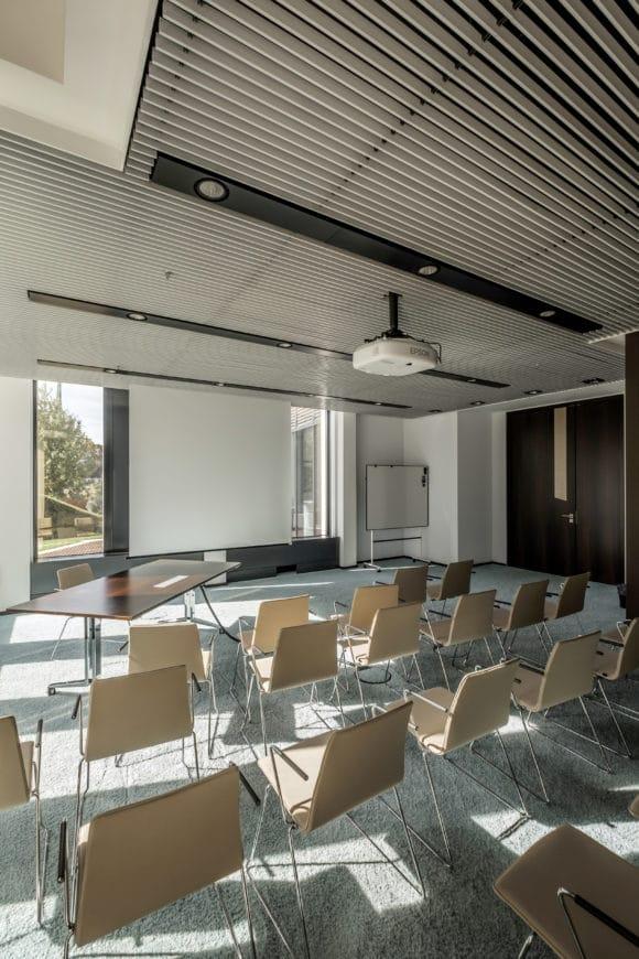 Konferenzräumen des Sankt Martin Towers in Frankfurt