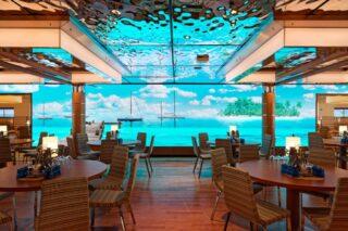 Yachtclub-Restaurant auf AIDAnova