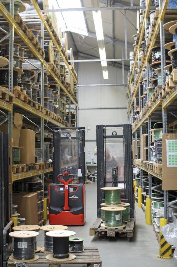 Audio-Meterwarenlager Europa
