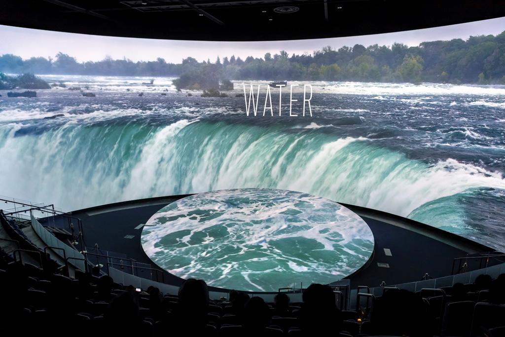 Kinosaal Aquarium of the Future