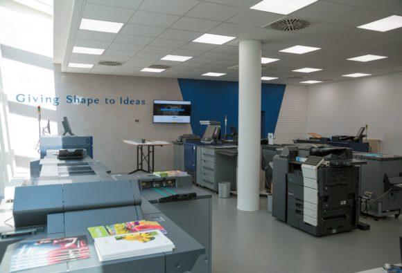 Production Center Konica Minolta Experience Center Stuttgart