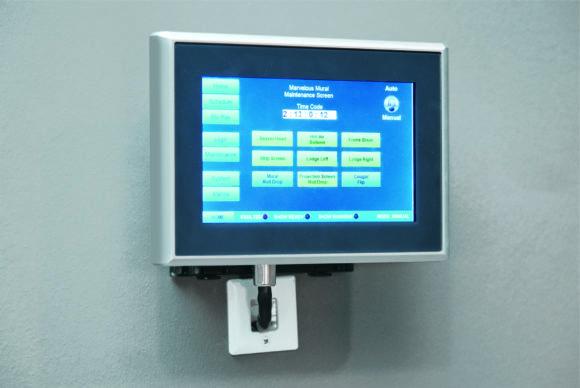 Einkabellösung CP-Link 4 mit dem 7-Zoll-Control-Panel CP2907