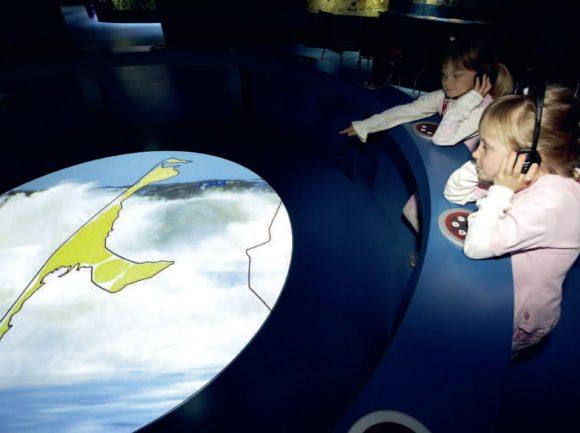 Auch die Medientechnik-Installationen im Erlebniszentrum Naturgewalten auf Sylt wurden von Thomann Audio Professional umgesetzt.