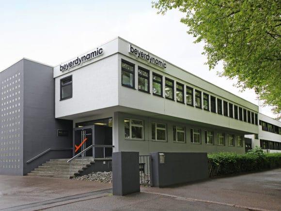 Firmenebäude von beyerdynamic in Heilbronn