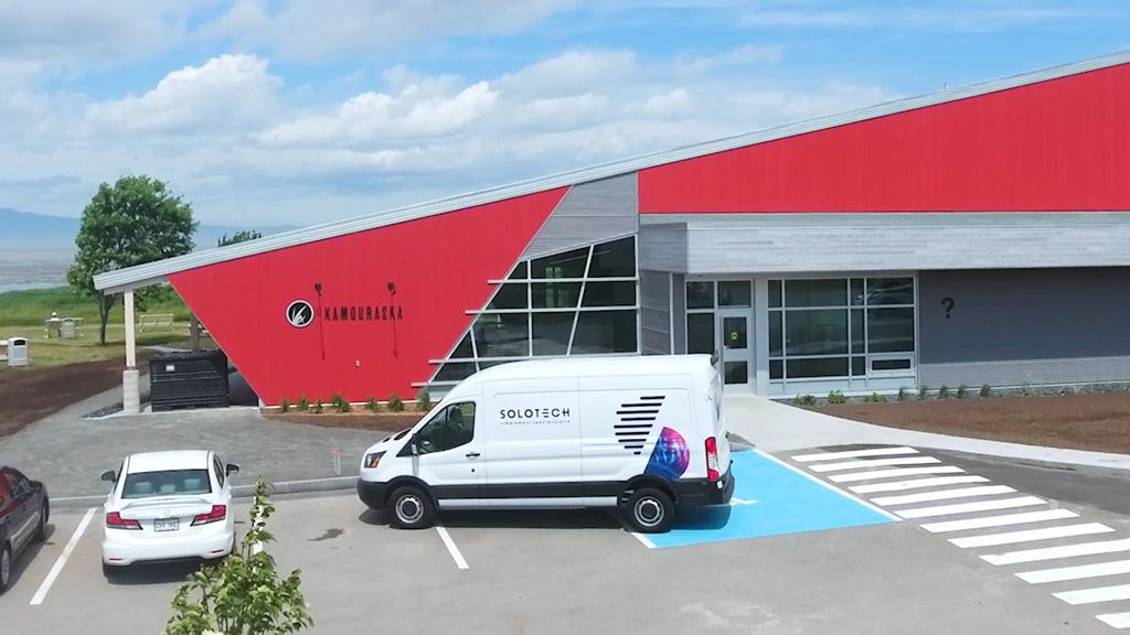 Museumsgebäude in Kanada