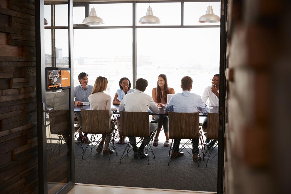 Team in einem Meeting