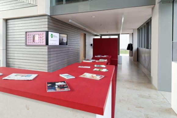 Foyer des DAW-Neubaus