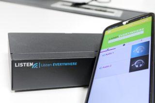 Listen EVERYWHERE Server und Smartphone mit der App