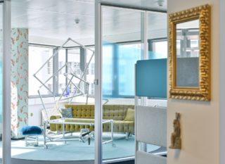 Office- und Möbelkonzept im Detecon Office in Frankfurt