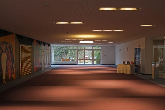 Blick ins Foyer