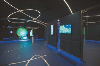ESA-BesucherInnenzentrum in Frascati bei Rom mit Ars Electronica Solutions