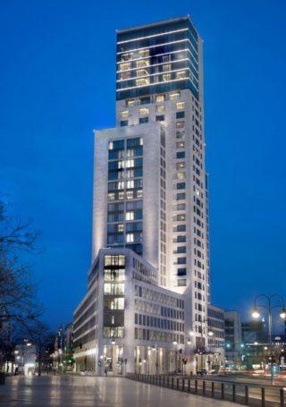 Außenansicht des Waldorf Astoria Berlin