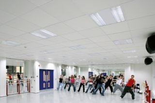 Beleuchtung im Fitnessstudio