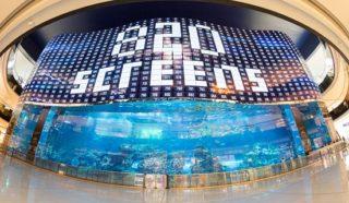 Weltweit größte OLED-Videowall in Dubai
