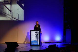 Carlo Ratti auf der ISE 2018 in Amsterdam
