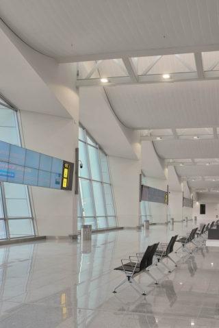 Decke des Brüsseler Flughafens
