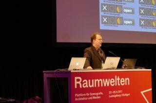 Kurt Dahlke zum Thema Audio-Design beim Raumwelten Kongress 2017