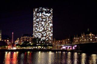 Auch im Bereich der Brücke Langebro werden Lichtinstalltionen zu sehen sein.