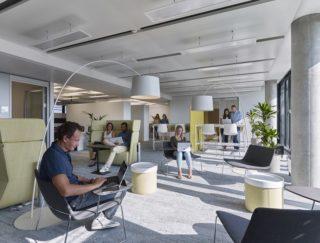 Microsoft Deutschland Unternehmenszentrale in Schwabing – Converse Workspace