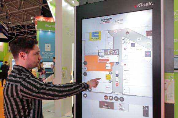 Digital Signage mit Touchfunktion