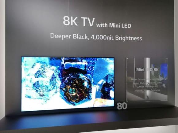 8K TV von LG