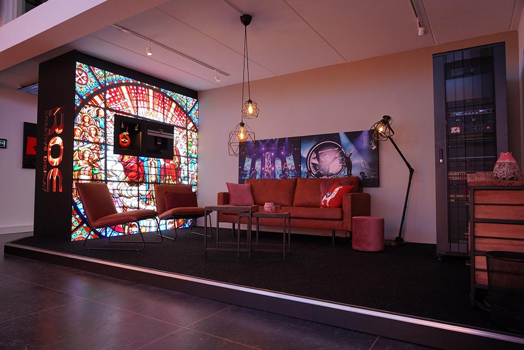 Coffee Corner im neuen Showroom von ROE Visual