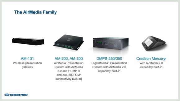 AirMedia Produktfamilie
