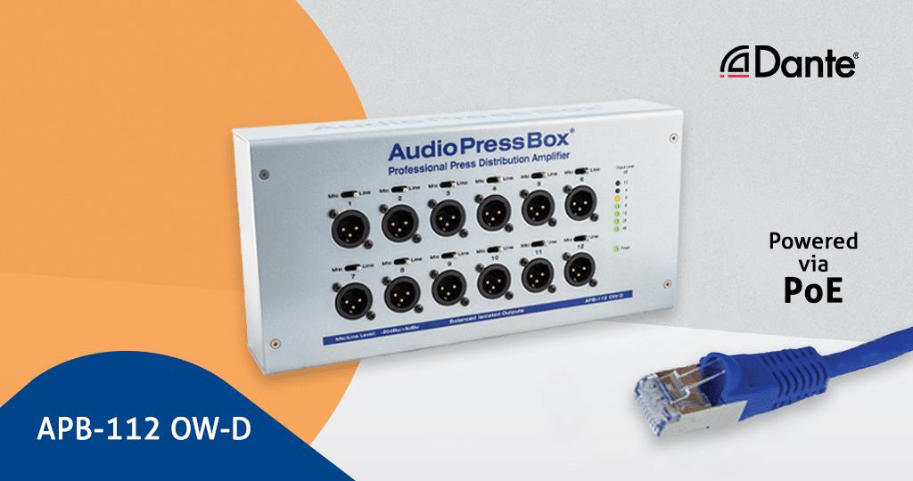 AudioPressBox APB-112 OW-D