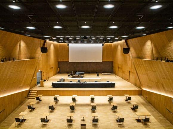 Tauberphilharmonie Line-Arrays