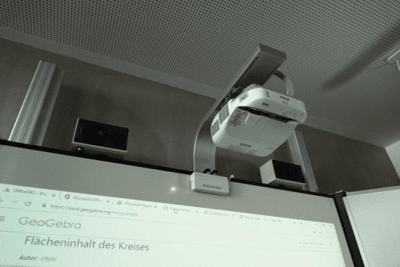 Prismaschule Langenfeld Interaktive Ultrakurzdistanzprojektoren