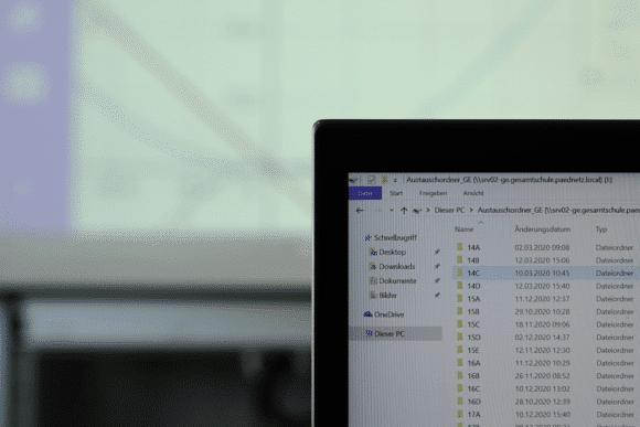 Prismaschule Langenfeld gemeinsame Dateiablage für den Unterricht
