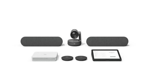 Logitech Rally Appliance RoomMate mit Premium-Konferenzkamerasystem Rally Plus