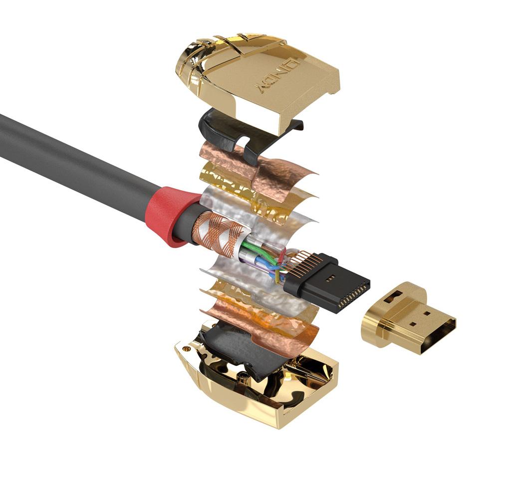 HDMI 2.1 Kabel von Lindy