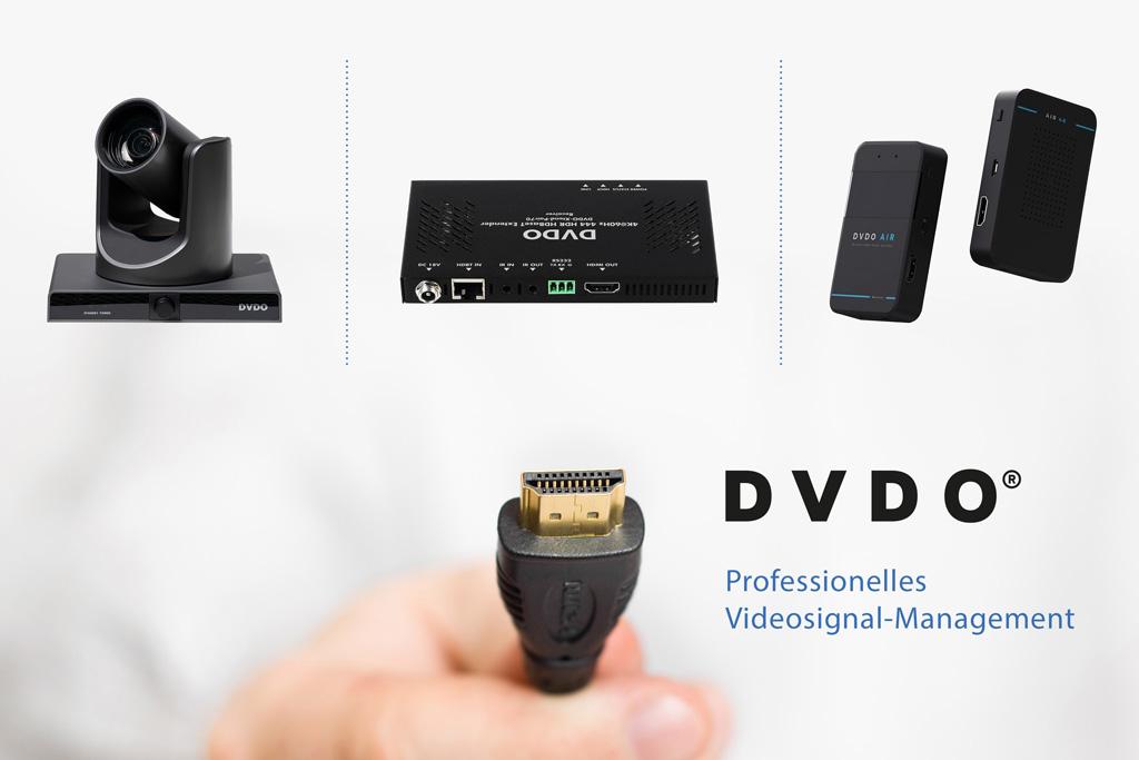 DVDO Markenflyer