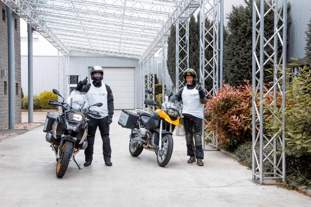 Start der Motorradreise