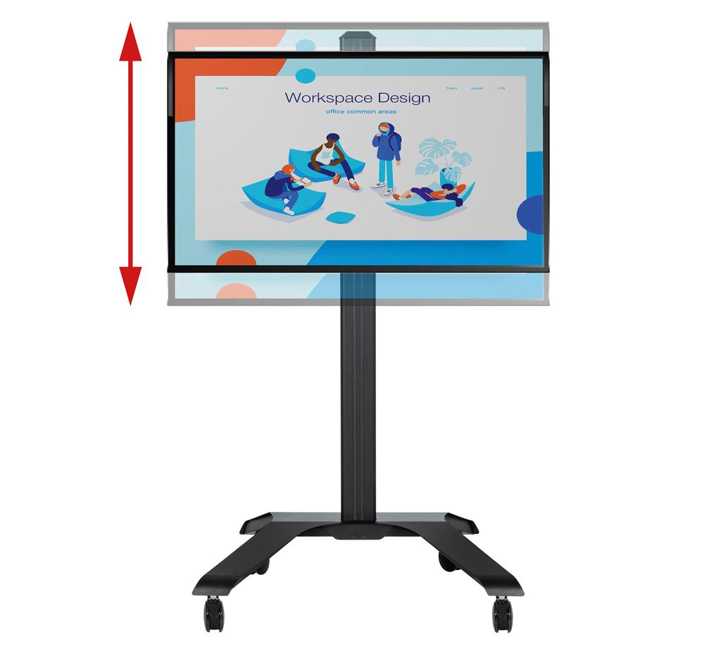Trolley-Displayhalterung B-Tech