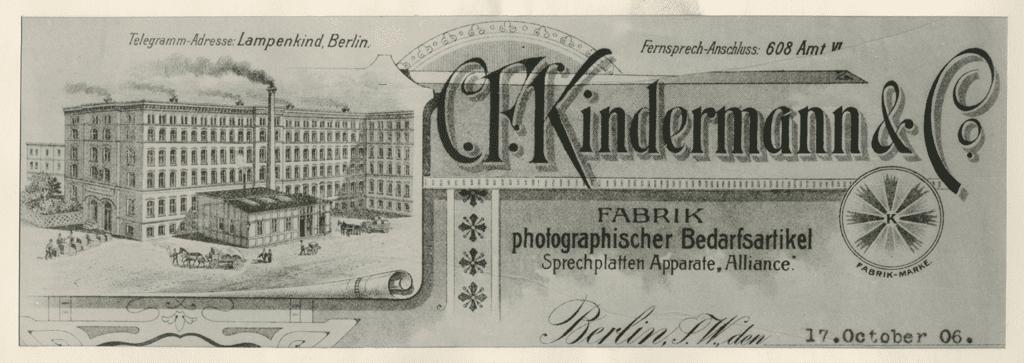 Werbeanzeige 1906