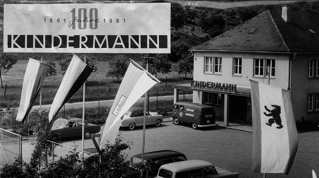 Standort von Kindermann 1961