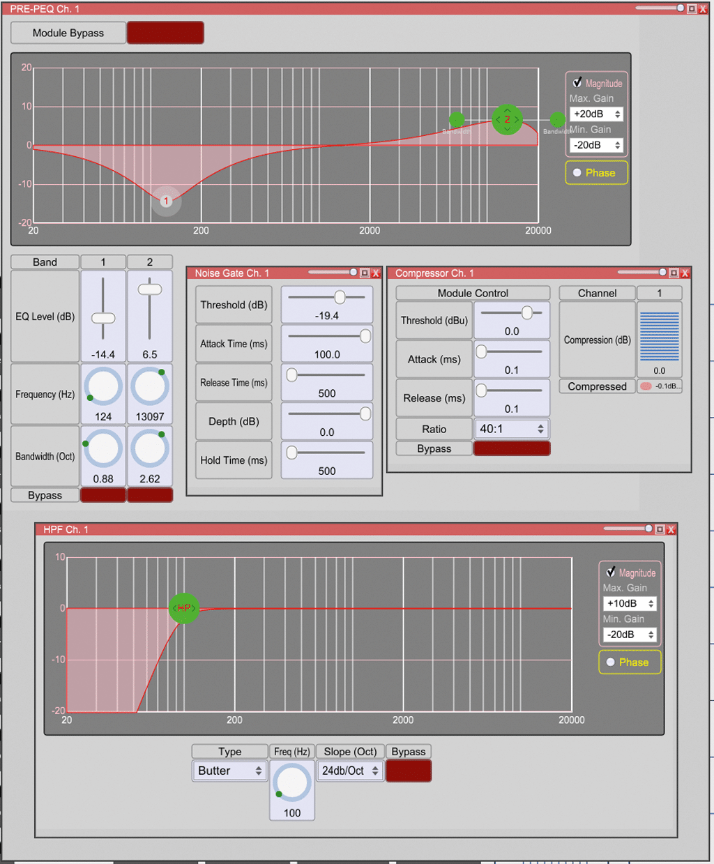 Screenshot Input Processing