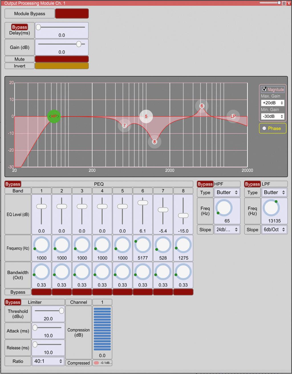 Screenshot Output-Processing
