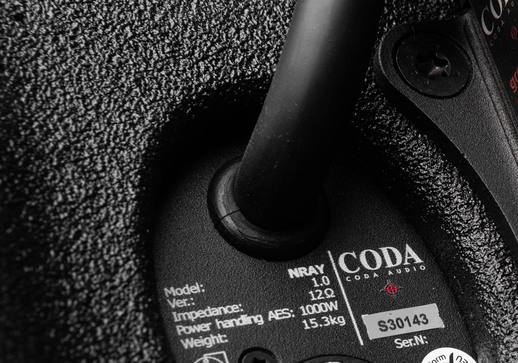 Coda Lautsprecheranschluss