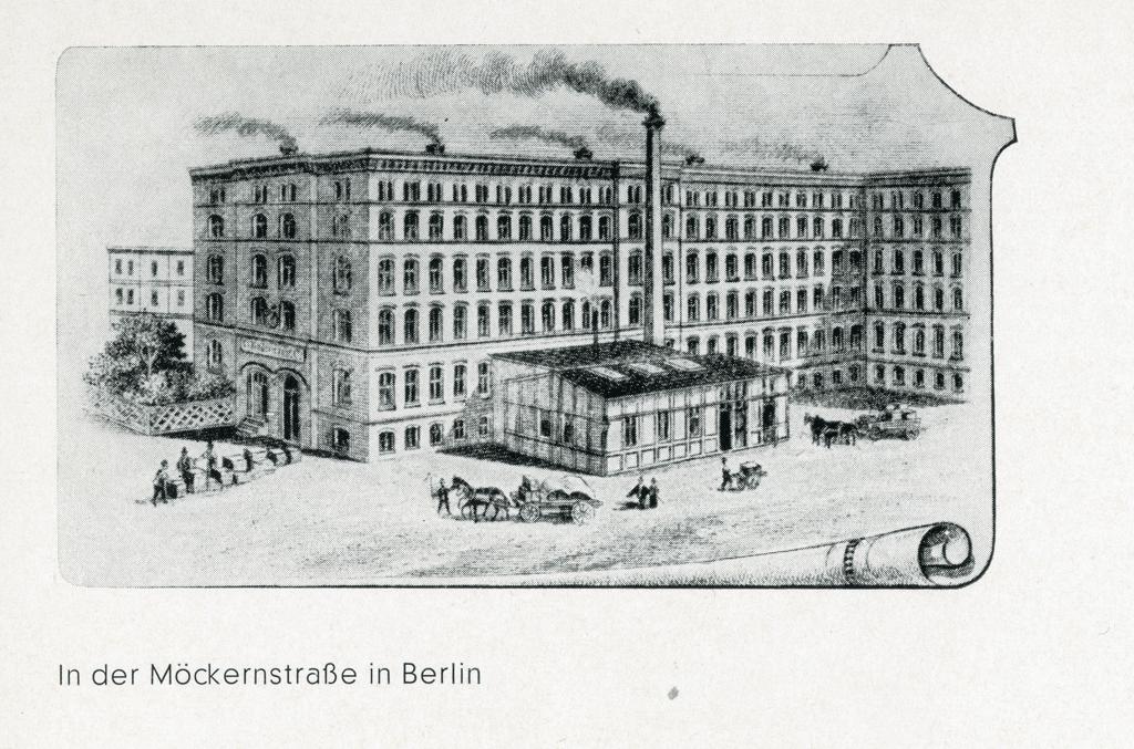 Historischer Kindermann Firmensitz