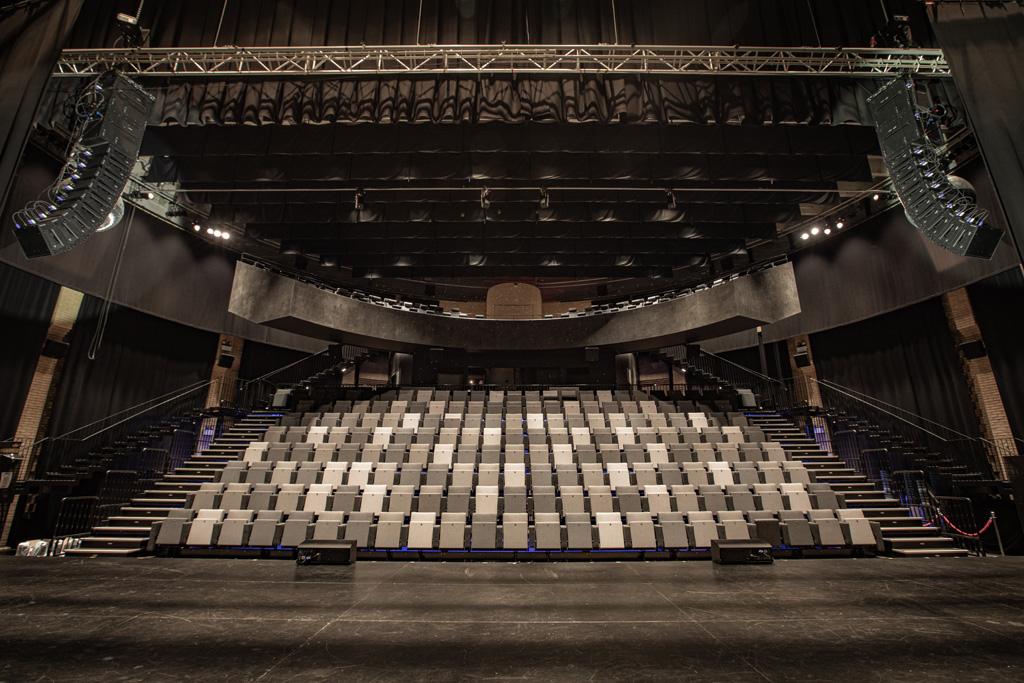 Publikumsraum im Kulturhaus
